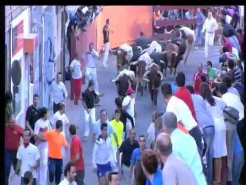 Segundo encierro de 2012 en San Sebastián de los Reyes