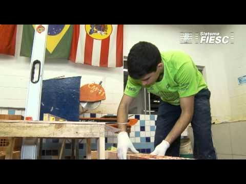 Encontro competidores do SENAI/SC da Olimpíada do Conhecimento 2012