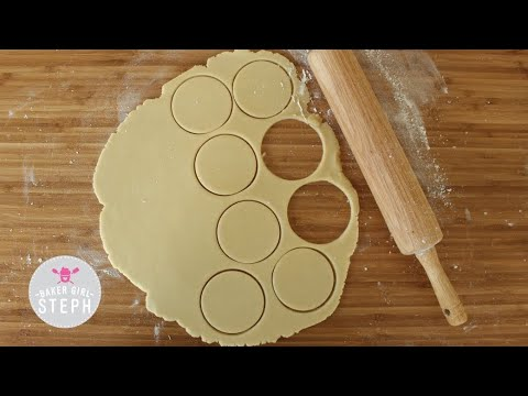 HOW TO MAKE SUGAR COOKIE DOUGH THAT WON'T SPREAD - BASIC RECIPE