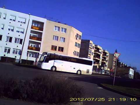 Kihajtható pendrive kamera felvétel az úton