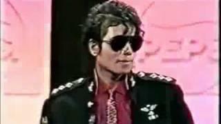 Przemowa Michaela Jacksona o współpracy z Pepsi