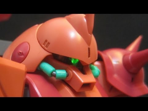 MG Marasai (Part 3: Parts) Zeta Gundam Titans Gunpla model review