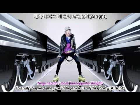 2NE1 - I Am The Best MV english sub + romanization + hangul 1080p HD
