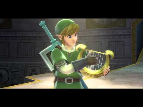 [HD] Skyward Sword - Cutscenes PART 7 - Flames of Farore and Nayru returned to the Master Sword