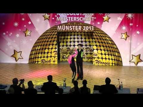 Madita Kudla & Leon Weber - Norddeutsche Meisterschaft 2013