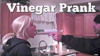 Vinegar Shot Prank