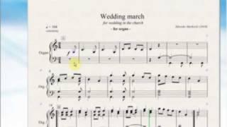 Wedding March For Organ In The Church