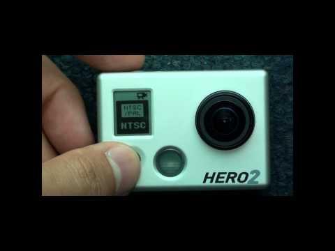 GoPro Hero2 Demo Training Menu Walk Through User Manual 1080p HD HiDef