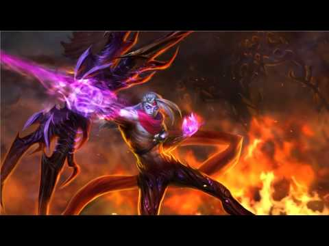 Varus League Of Legends Login Screen With Music