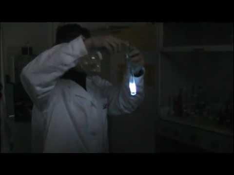 IIS Majorana-Marconi. Esperimenti di chimica. Il luminol.avi