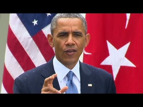 President Obama speaks about the IRS scandal