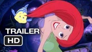 The Little Mermaid Official Diamond Edition DVD Trailer (2013) - Disney Movie HD