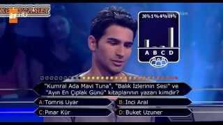 Kim milyoner olmak ister 221. bölüm Ömer Mahmut Alphan 19.05.2013
