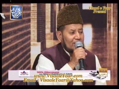 URDU NAAT( Muflis e Zindagi)AKHTAR QURESHI IN QTV.BY  Naat E Habib