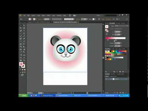 Adobe Illustrator CS6 Basics - Create Cartoon Characters Tutorial Part 2