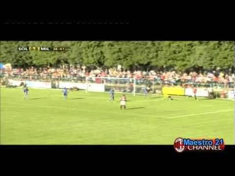 Highlights AC Milan 12-0 Solbiatese - 20/07/2011