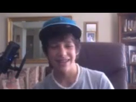 ARE YOU SINGLE??? Random ustream moments with Austin Mahone #1