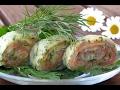 Сырный рулет из семги и форели/Идеальная закуска