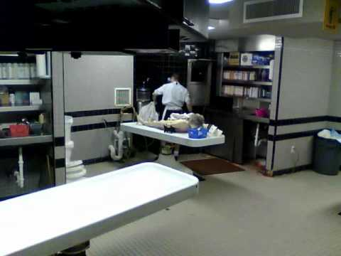 time lapse cleaning morgue