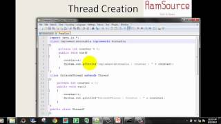 #8 JAVA Programming in Tamil - Multithreading Part1