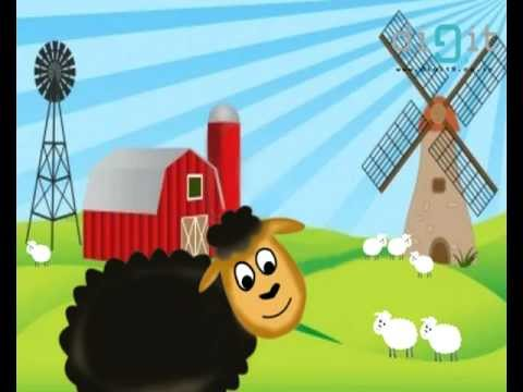 Baba Black Sheep - Nursery Rhymes - Kids Animation