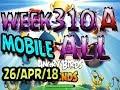 Angry Birds Friends Tournament All Levels Week 310-A MOBILE Highscore POWER-UP walkthrough