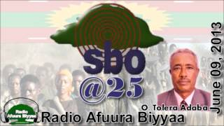 Radio Afuura Biyyaa: Interview with Obbo Tolera Adaba, a Senior Founding Journalist of SBO, on the 25th Anniversary of SBO