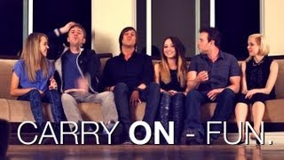 Fun - Carry On - Cover by Ali Brustofski Madilyn Bailey Peter Hollens J.Rice Skylar Dayne Runaground