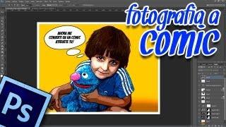Tutorial Photoshop CS6: efecto foto a comic by @ildefonsosegura