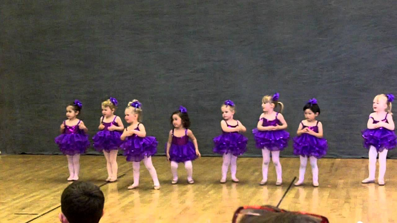 Sofia Dancing to Baby Beluga (Toddler Ballet)
