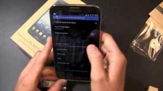 Samsung Galaxy Mega kutudan çıkarma