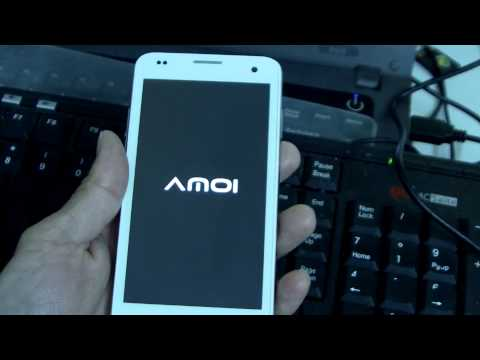 AMOI A862W Upgrade Mulit language ROM Method