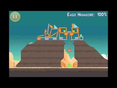 Angry Birds Mighty Eagle Walkthrough 12-3