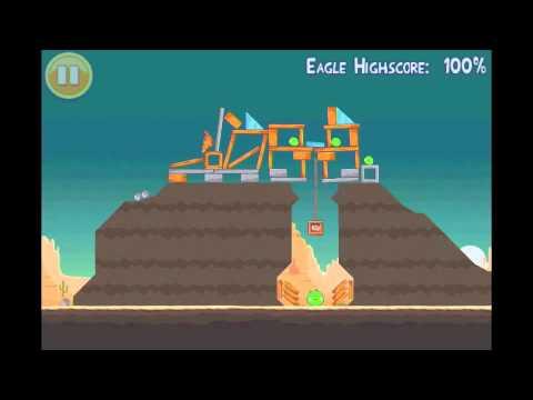 Angry Birds Mighty Eagle Walkthrough 12-3