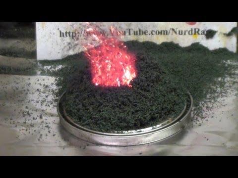 Volcano of Ammonium Dichromate