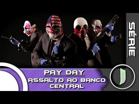 Série GAMER - PayDay: The Heist - Episódio 01: Assalto ao Banco Central