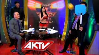 AKTV Center: Shoot or Dare with Abby Poblador and Beau Belga