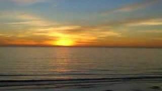 SUNSET AT LA SELVA BEACH CALIFORNIA view on youtube.com tube online.