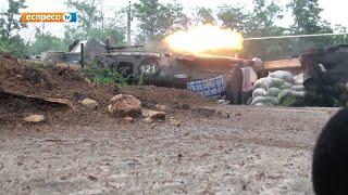 Десантники 95-й бригады в бою против русских диверсантов