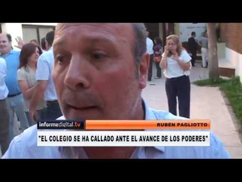<b>Colegios de Abogados.</b> Gan� la oposici�n y Pagliotto qued� como presidente