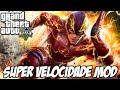 GTA V - SUPER VELOCIDADE MOD DO FLASH