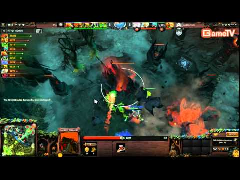 Dota2 | Alliance vs VG D2L 8 1 2014