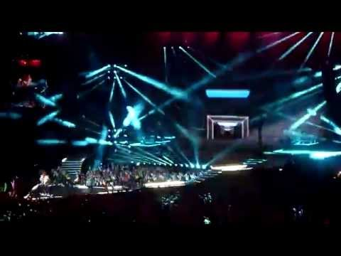 Madonna MDNA Tour - Celebration (Closing Last Song) -Tel Aviv 31/05/2012 HD