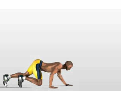 Esercizio per rassodare tonificare gambe - glutei ( donne / uomini ) -CZQsIWghums