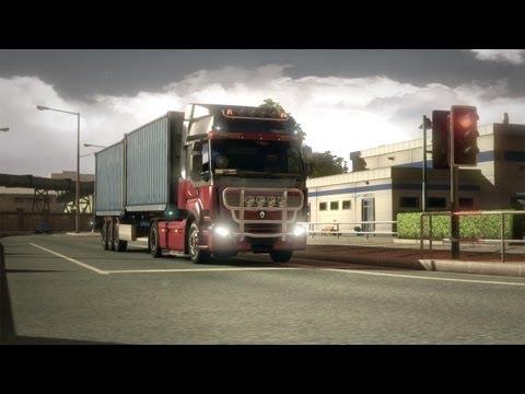 Посмотреть ролик - Euro Truck Simulator 2 Patch 1.3.1 - Renault Premium Cus