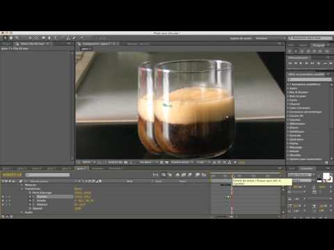 self-filling cup tutorial in After Effects