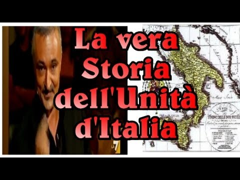 La vera storia dell'Unità d'Italia.