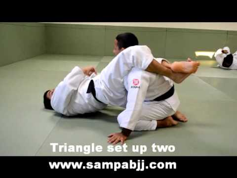3 Triangle set ups by Sampa Brazilian Jiu Jitsu and MMA Glendora, Walnut, Covina, La Verne