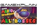 All Boss Fights in Super Mario 3D World (Boss Battles - 1080p Wii U)