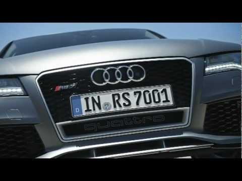 WELTPREMIERE in Detroit - der Audi RS7 Sportback